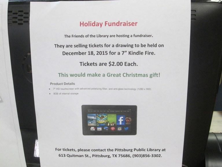 Christmas Display & Kindle Fundraiser 002.JPG