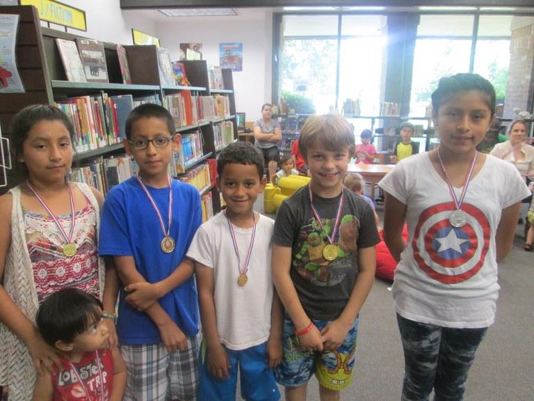 Library Olympics 7-21-2016