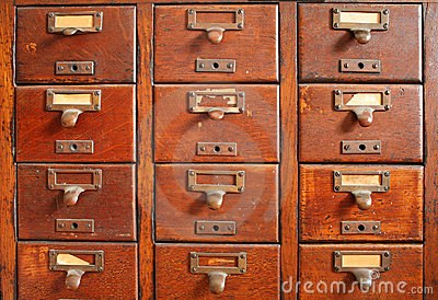Old Card Catalog